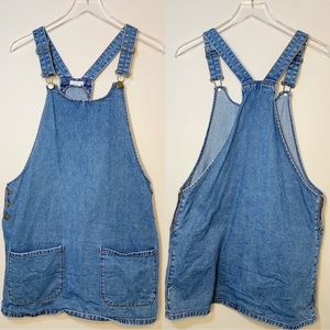 Cooperative | Jean Overall Skirt | Medium